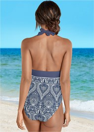 Back view Bohemian One-Piece