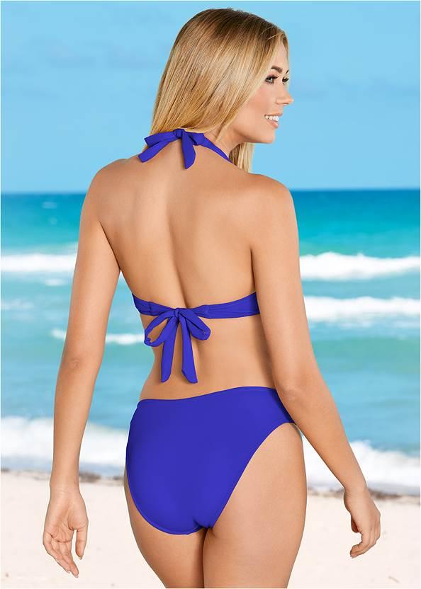 Back view Scoop Front Bikini Bottom