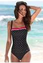 Front View Slimming One-Piece