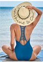 Front view Strappy Racerback One-Piece