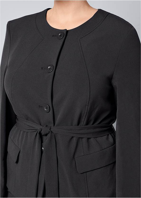 Alternate View Belted Pant Suit Set
