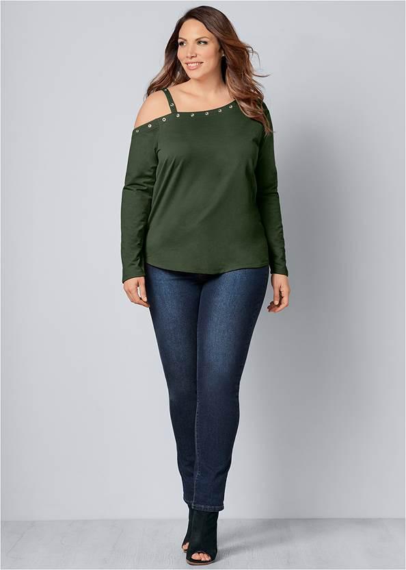 Alternative Grommet Detail Sweatshirt