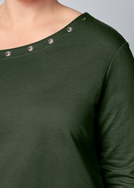 Alternative Grommet Detail Sweatshirt
