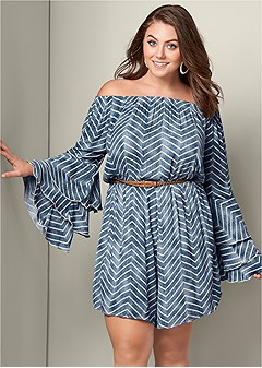 plus size sleeve detail romper