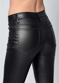 Alternate View Faux Leather Pants