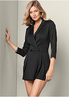 tailored romper
