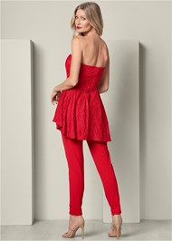 Alternate View High Low Detail Jumpsuit
