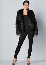 Alternate View Faux Fur Jacket