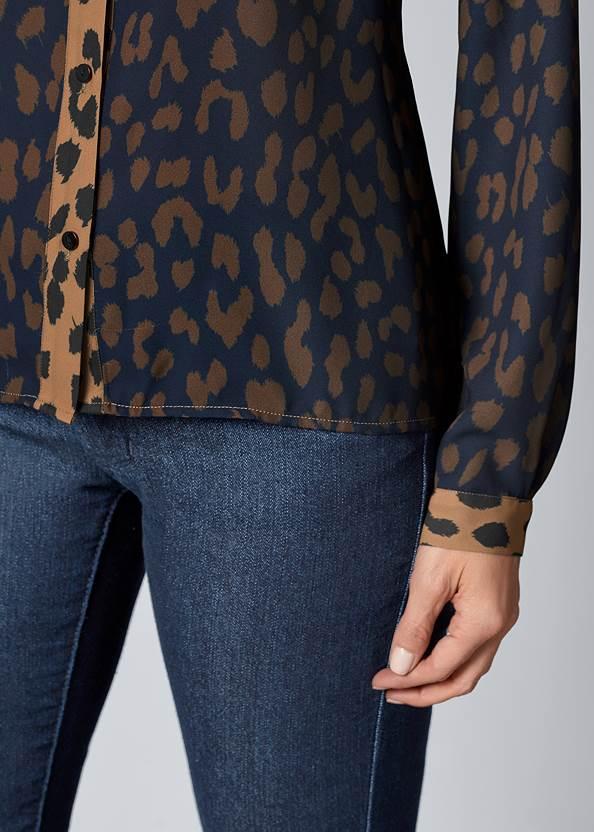 Alternate View Leopard Blouse