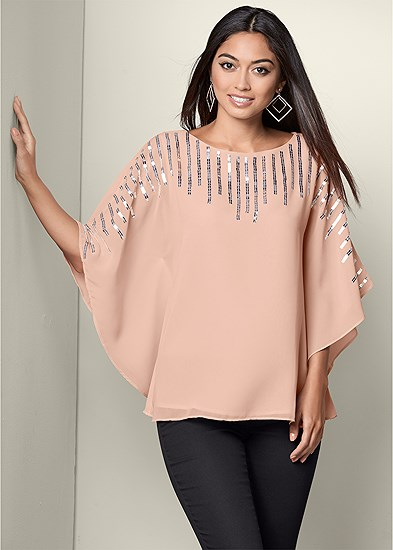 Sequin Detail Tunic