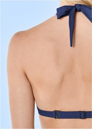 Alternate View Marilyn Underwire Push Up Halter Top
