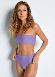 Front View Versatility By Venus™  Reversible Bandeau Top