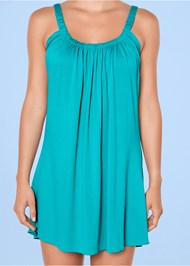 Alternate view Gathered Neckline Cover-Up Dress