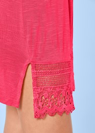 Alternate View Sleeveless V-Neck Cover-Up