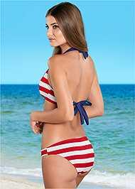 Full back view Low Rise Classic Bikini Bottom