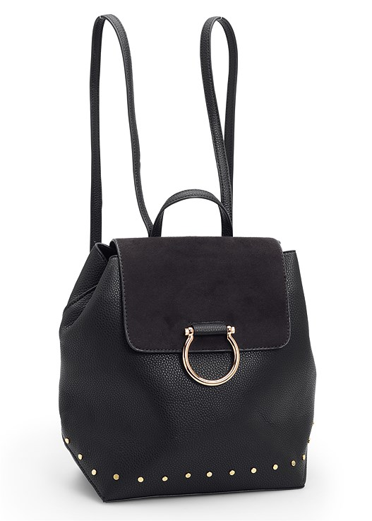 RING DETAIL BACKPACK