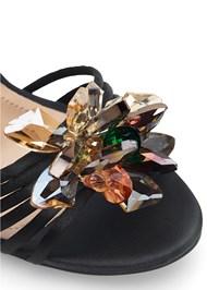 Alternate View Embellished Flower Heels