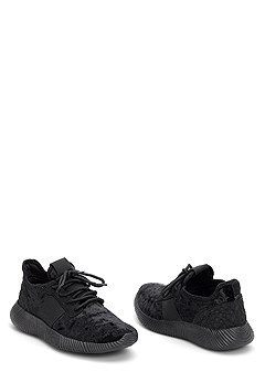 velvet sneaker
