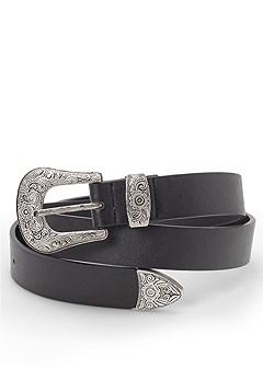 skinny western belt