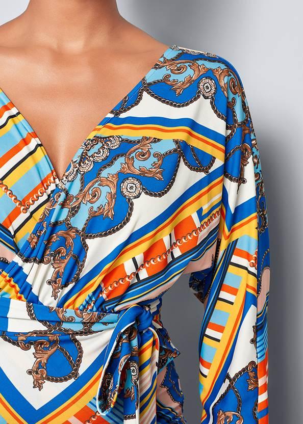Alternate View Print Bodycon Dress