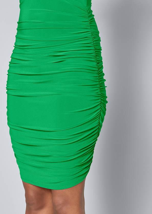 Alternate View Tie Detail Bodycon Dress