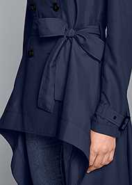Alternate View High Low Trench Coat