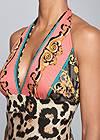 Alternate View Leopard Print Maxi Dress