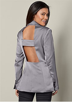 back detail blazer