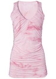 Alternate View Lace Detail Tie Dye Top