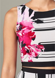 Alternate View Printed Cut Out Detail Top