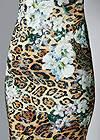 Alternative Print Lace Bodycon Dress