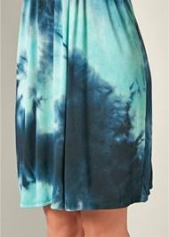 Alternative Smocked Tie Dye Dress