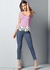 Back Lace Up Top