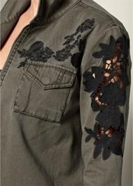 Alternate View Lace Detail Jacket