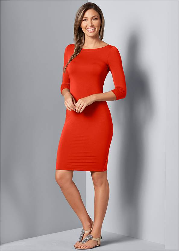 Alternative Lace Up Back Detail Dress