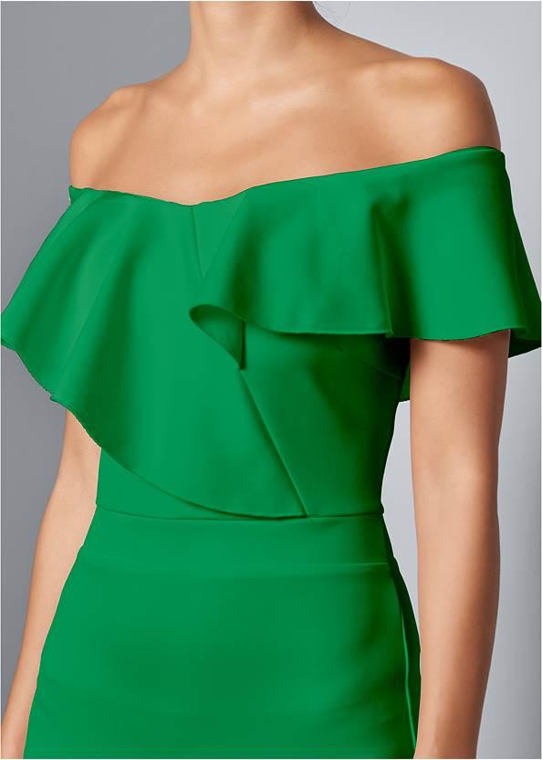 Alternative High Low Ruffle Dress