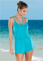 strappy romper cover-up