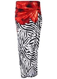 Alternate View Print Maxi Skirt