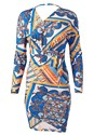 Alternate View Print Bodycon Dress