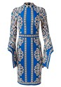Alternate View Print Sleeve Detail Dress