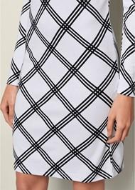 Alternate View Geometric Printed Dress