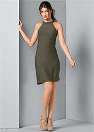 Alternate View Casual A-Line Dress