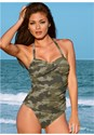 Alternate View Twist Bandeau Tankini Set