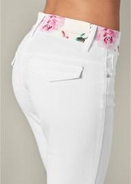 Alternate View Floral Detail Pants