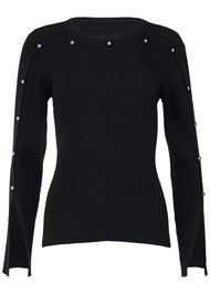 Alternate View Stud Detail Sweater
