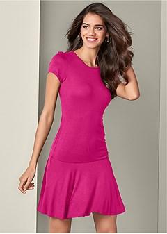 drop waist casual dress