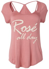 Alternate View Rose All Day Graphic Tee