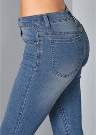 Alternate View Lace Detail Jeans