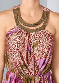 Alternate View Surplice Print Top