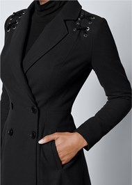 Alternate view Lace Up Detail Coat